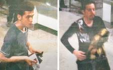 This reproduction of Malaysian police handout photographs displayed to the media on 11 March 2014 by a Malaysian police official at a press conference near Kuala Lumpur International Airport in Sepang shows 19-year-old Iranian Pouria Nour Mohammad Mehrdad (L) and an unidentified man (R) at the airport, who both boarded missing Malaysia Airlines MH370 flight using stolen European passports. Pictuire: AFP.