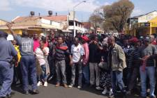 File Picture: Protest in the the Tshwane Municipality. Picture: Christa van der Walt/Eyewitness News.