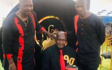 Menzi Ngubane and his father Ndodeni. Picture: Menzingubaneza/Instagram