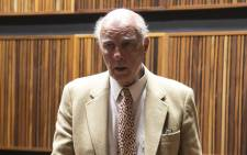 FILE: Former tennis champion Bob Hewitt has been found guilty on two counts of rape and one of indecent assault on 23 March 2015. Picture: Gia Nicolaides/EWN.