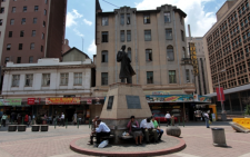 FILE: Gandhi statue in Ghandi Square Johannesburg Central. Picture: Gauteng.net