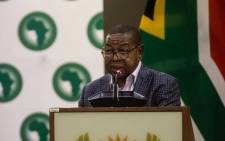 FILE: Minister of Higher Education, Science and Technology Blade Nzimande. Picture: Kayleen Morgan/EWN.