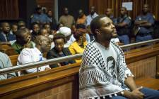 FILE: Mceboi Dlamini pictured at the Palm Ridge Magistrates Court in Thokoza. Picture: Thomas Holder/EWN