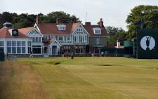 Venue of the British Open Golf Tournament
