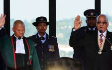 FILE: President Jacob Zuma (R) was inaugurated at the Union Buildings in Pretoria on Saturday afternoon. 24 May 2014. Picture: GCIS.""\225|141|?|a3e7bd3bb7d9fe39a74a4fbee25b387f|False|UNLIKELY|0.3629544675350189