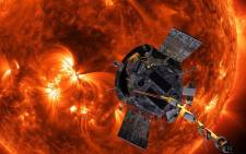 Illustration of NASAs Parker Solar Probe approaching the Sun. Illustration by: NASA Johns-Hopkins APL Steve Gribben