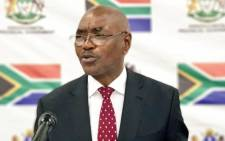 KwaZulu-Natal premier Willies Mchunu updates media on his health after collapsing during his State of the Province Address in Pietermaritzburg on 27 February. Picture: @kzngov/Twitter.