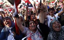 Millions of Egyptians celebrate after Mohamed Morsi was toppled by the army on 3 July 2013. Picture: AFP