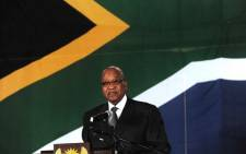 President Jacob Zuma. Picture: Sapa.