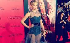 Actress Jennifer Lawrence attends the launch of 'Catching the Fire'. Picture: Facebook.com