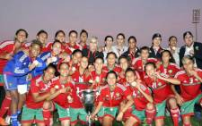Morocco's women football team. Picture: Supplied.