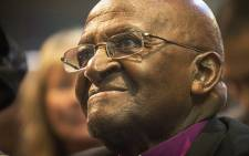 FILE: Archbishop Emeritus Desmond Tutu enjoys his 60th wedding anniversary celebrations at St George's Cathedral in Cape Town in 2015. Picture: Aletta Gardner/EWN
