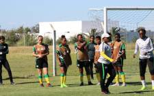 Bantwana during a training session : Picture: Twitter/@SAFA_net