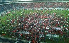 Fans at the Orlando Stadium after an Absa Premiership game. Picture: EWN