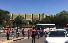 UJ students say the longer management takes to address them, the longer exams will be delayed. Picture: Dineo Bendile/EWN.