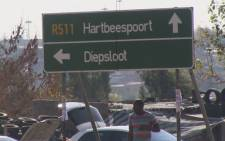 The body of the little girl was found underneath a bridge in Diepsloot at the weekend. Picture: EWN