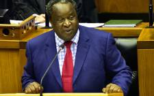FILE: Minister of Finance Tito Mboweni at Parliament in Cape Town. Picture: GCIS.