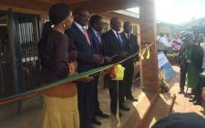 The Chief Albert Luthuli Primary School was officially opened in Daveyton on 13 January 2016. Picture: Thando Kubheka/EWN