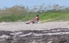Nudist beach is situated on public property and cameras are permitted. Picture: CNN