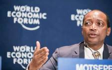 FILE: Patrice Motsepe at the World Economic Forum on Africa 2015 in Cape Town. Picture: World Economic Forum/Benedikt von Loebell