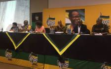 FILE: The ANC's leadership at a meeting. Picture: Masa Kekana/EWN