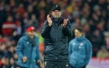 Liverpool manager Jurgen Klopp. Picture: @LFC/Twitter.