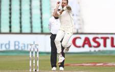FILE: South Africa's Dale Steyn bowls during the fourth day of the first Cricket Test between South Africa and Sri Lanka at the Kingsmead Stadium in Durban on 16 February 2019. Picture: AFP