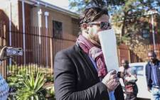 FILE: Adam Catzavelos leaves the Randburg Magistrates Court after his first appearance on 28 May 2019. Catzavelos is being charged with crimen injuria. Picture: Abigail Javier/EWN