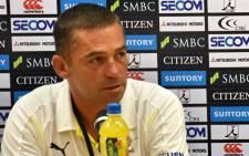 Cheetahs coach Franco Smith. Picture: AFP