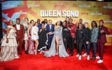 Netflix spy thriller Queen Sono premiered in Johannesburg on 27 February 2020. Picture: Twiter/@NetflixSA