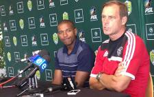 Ajax Cape Town coach Jan Versleijen. Picture: Alicia Pillay/EWN
