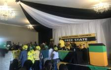 FILE: The  ANC conference in the Free State on 11 December 2017. Picture: Clement Manyathela/EWN
