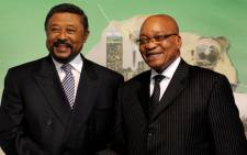 AU Chair Jean Ping and President Jacob Zuma at the African Diaspora. Picture: GCIS