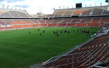 The Mbombela Stadium in Nelspruit, Mpumalanga.