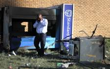 FILE: Aftermath of an ATM bombing. Picture: EWN
