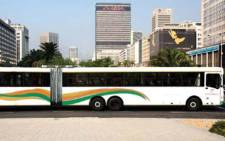 FILE: One of Golden Arrow's articulated buses. Picture: Golden Arrow.