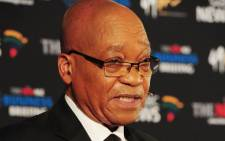 President Jacob Zuma speaks at a New Age business breakfast. Picture: GCIS
