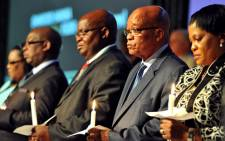 President Jacob Zuma attends a Candle light ceremony, in remembrance of the councillors who passed away. It took place at the SALGA Special National Conference held at Gallagher Estate, Midrand. Picture: GCIS.