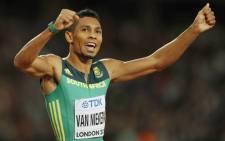 South Africa's Wayde van Niekerk.. Picture: AFP.