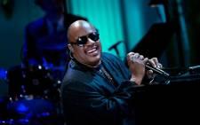 Singer Stevie Wonder. Picture: AFP.