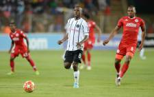 FILE: Victory through the 80th-minute goal lifted Pirates two places to eighth after nine rounds, 10 points behind leaders and arch-rivals Kaizer Chiefs, while Highlands stayed fourth. Picture: @orlandopirates/Twitter