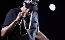 US rapper Jay-Z. Picture: AFP.