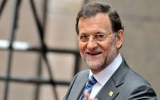 Spanish Prime Minister Mariano Rajoy. Picture: AFP.