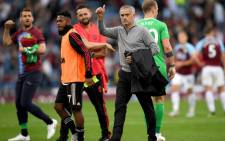 Manchester United manager Jose Mourinho waves to the fans after United's 2-0 win against Burnley on 2 September 2018. Picture: Facebook.