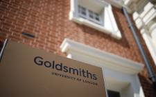 A picture shows the facade of Goldsmiths, University of London, in London on 13 August 2019. Picture: AFP