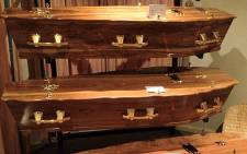 Coffins. Picture: Giovanna Gerbi/Eyewitness News