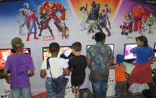 Over 30,000 electronic gaming enthusiasts descended on the Ticketpro Dome, Northgate, to play, shop and dress-up.Picture: Louise McAuliffe/Freelance Journalist