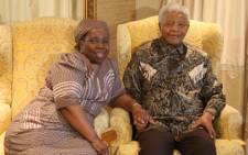 Nkosazana Dlamini-Zuma with former SA President Nelson Mandela in Qunu. Picture: GCIS.