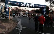 Discovery 702 Walk the Talk 2015: The start line ahead of this morning's first race. Picture: EWN Sport.
