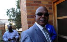 Richard Mdluli outside court 30 April, 2012. Picture: Sapa